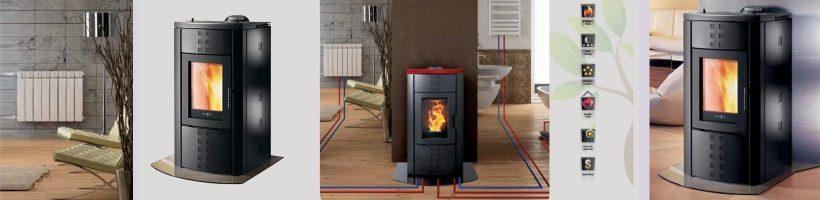 Amalfi Pelletfire Boiler Water Heater With Two Radiators